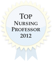 Top Nursing Professor 2012