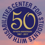 Center for Students With Disabilities Logo